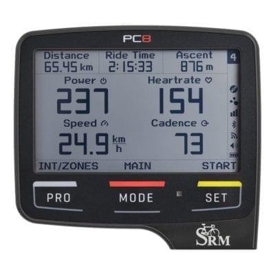 Computer per biciclette SRM Powercontrol 8
