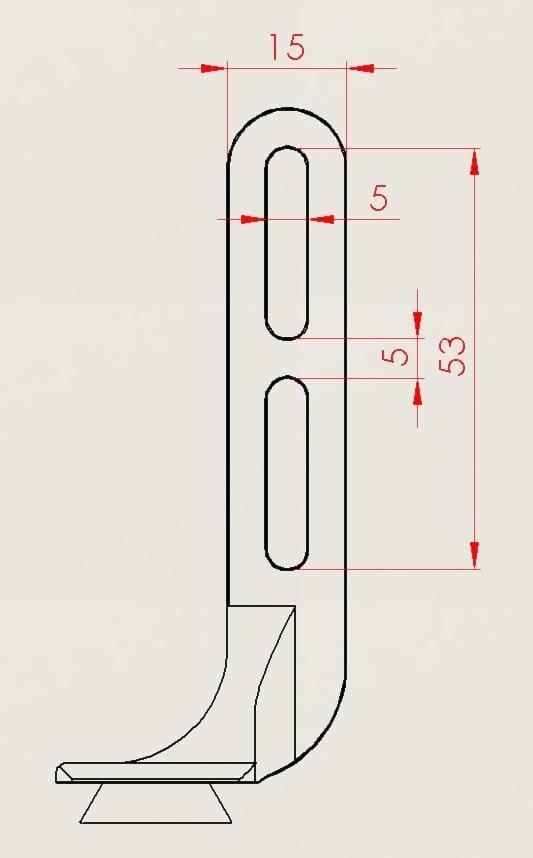 SRM integrierter Lenkerhalter 2