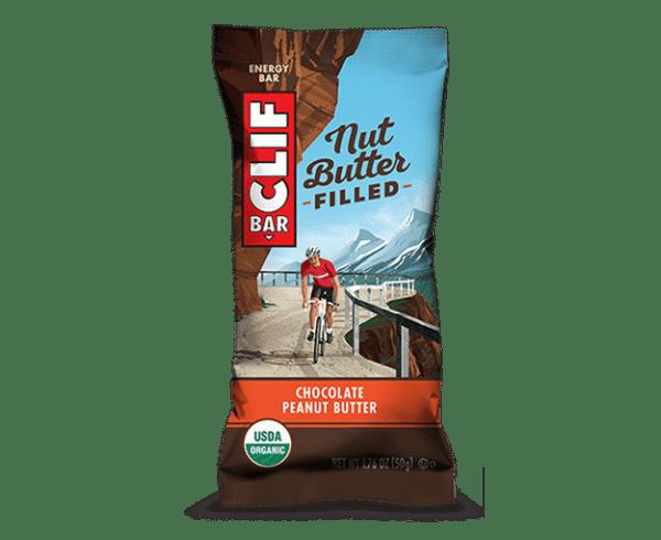 CLIF Bar Nut Butter Filled Energie Riegel chocolate peanut butter