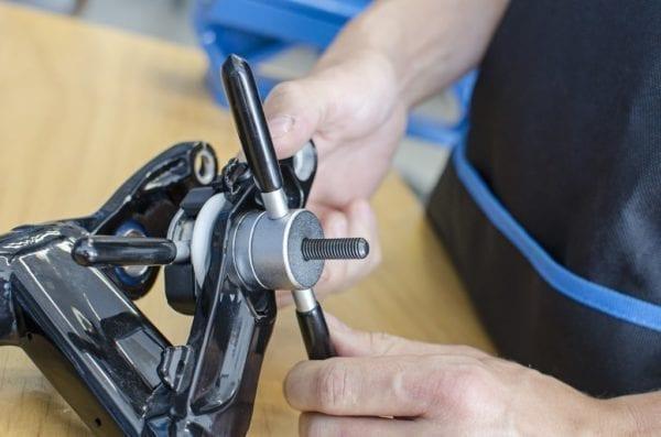 Unior Universal Lagereinpress Werkzeug Set bearing press 04