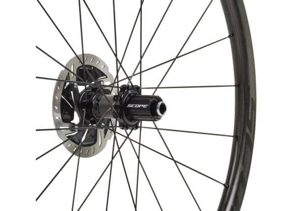 SCOPE Laufradsatz Cycling carbon wheels black XP Sport 04