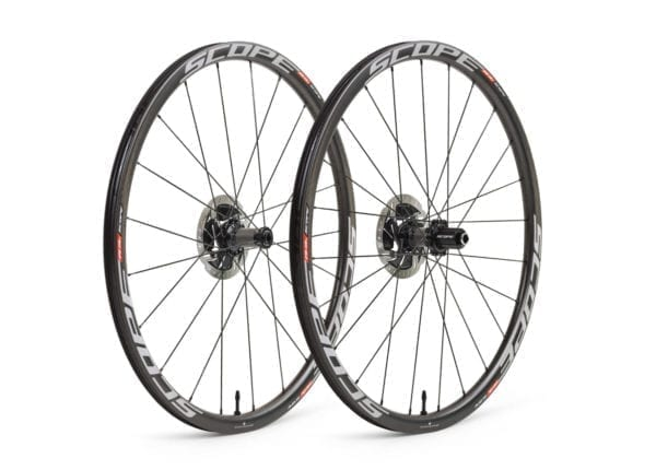 SCOPE Laufradsatz Cycling carbon wheels white XP Sport 01