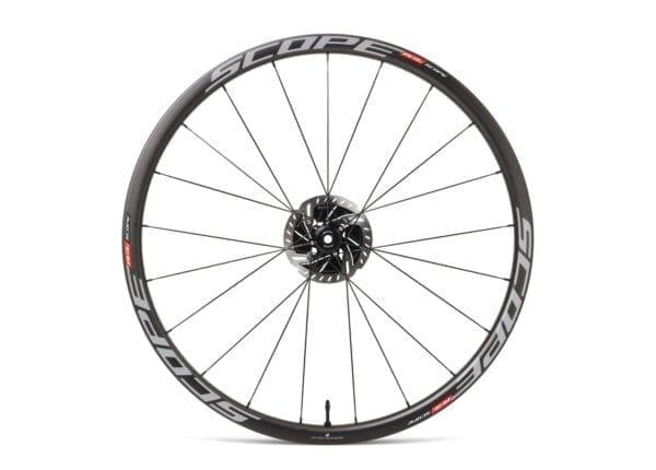SCOPE Laufradsatz Cycling carbon wheels white XP Sport 03