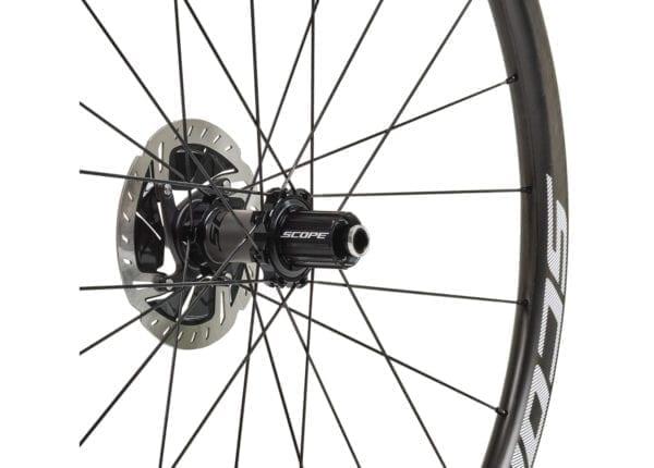 SCOPE Laufradsatz Cycling carbon wheels white XP Sport 06