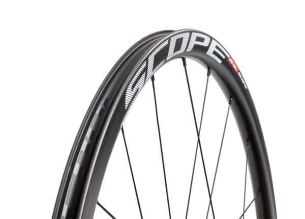 SCOPE Laufradsatz Cycling carbon wheels white XP Sport 07