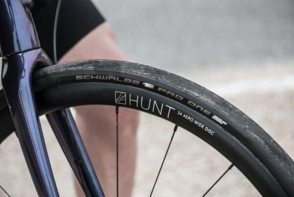 HUNT 34 Aero Wide Disc Laufradsatz wheels XP Sport Bike 1