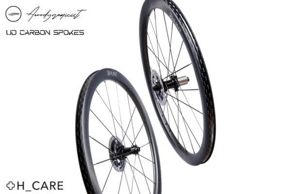 HUNT Aerodynamicist Carbon Disc Laufradsatz wheels XP Sport