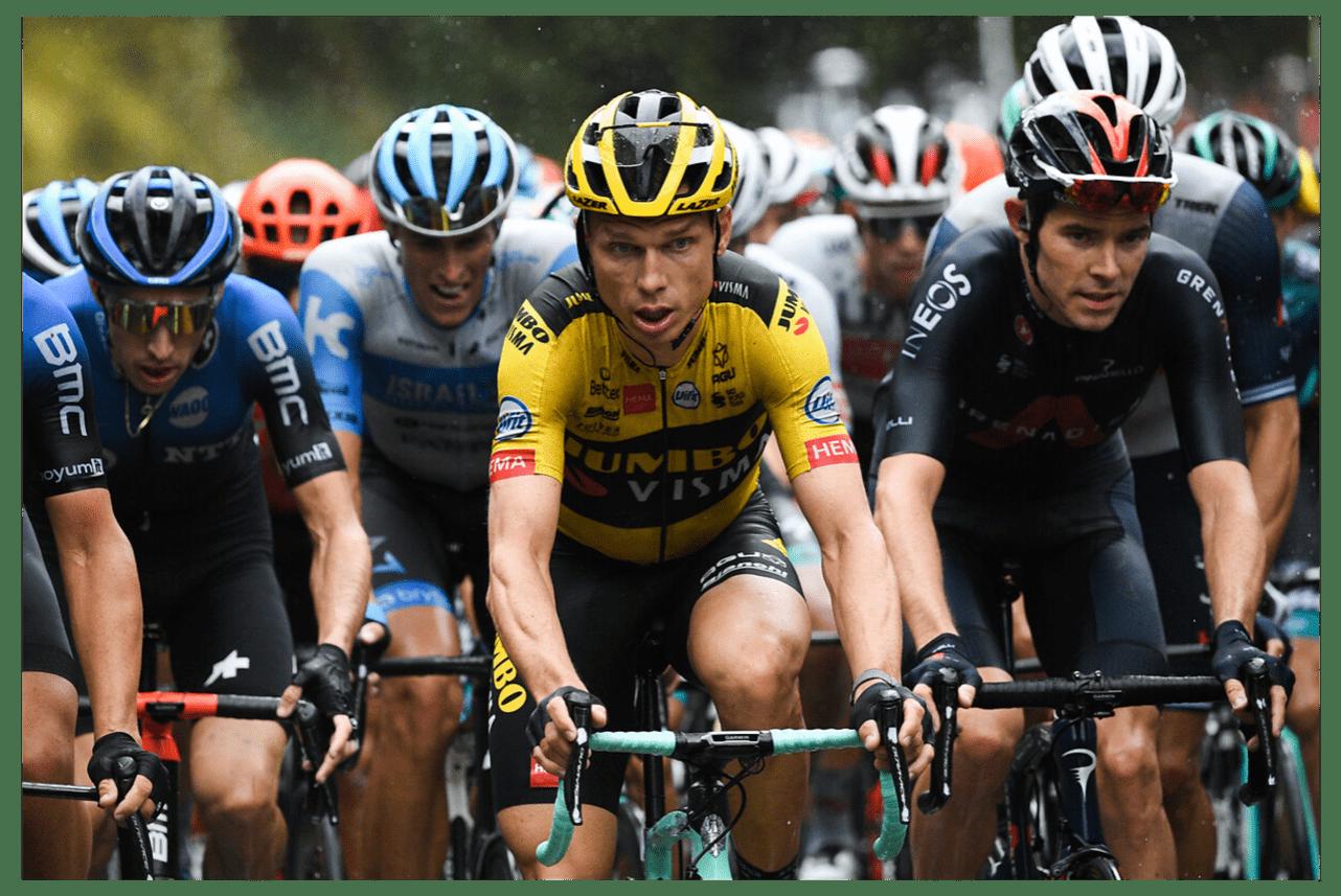 Tony Martin e Luke Rowe / Tour de France 2020