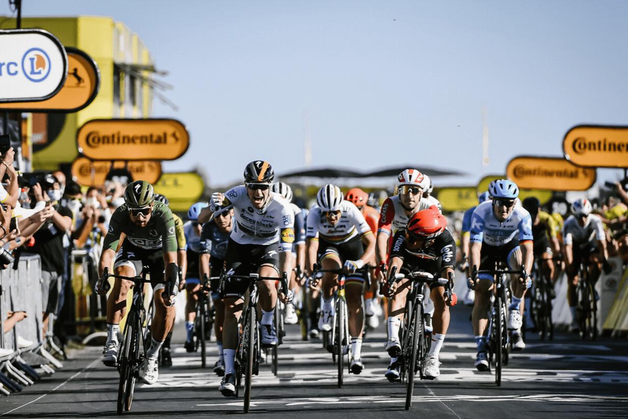 Sam Bennett, vainqueur de la 10e étape du Tour de France 2020