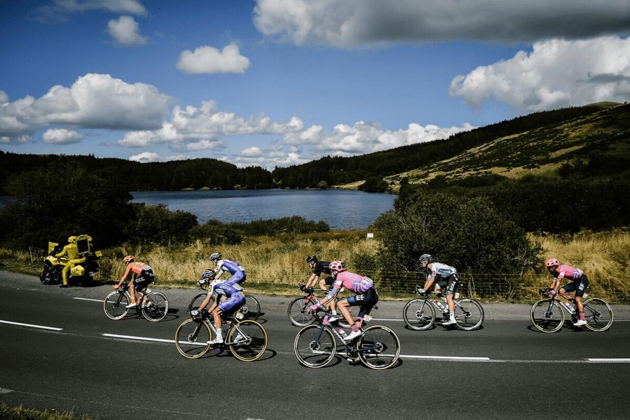 Groupe d'échappée de la 13e étape du Tour de France 2020
