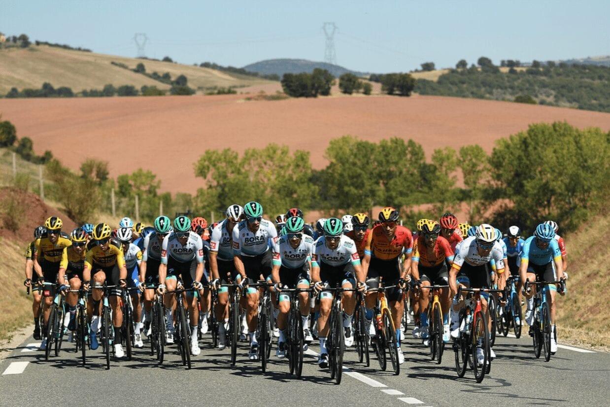 Bordo del vento nel settimo giorno del Tour de France