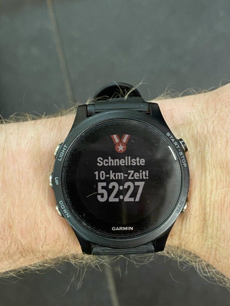Persoonlijk record 10K marathon