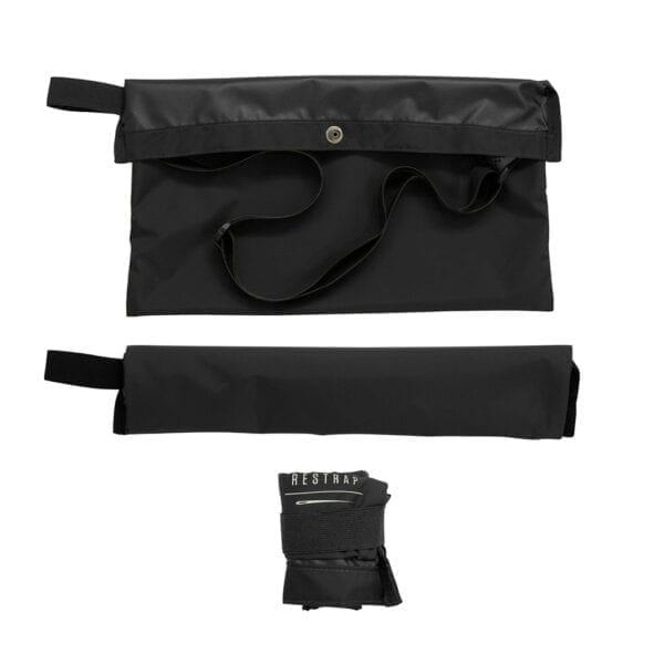 Restrap Adventure Race Musette Umhängetasche bag black XP Sport 1