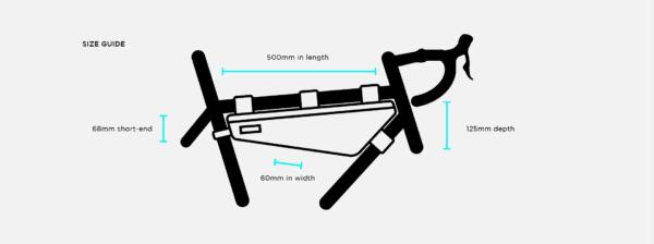 Restrap Rahmentasche frame bag large size XP Sport