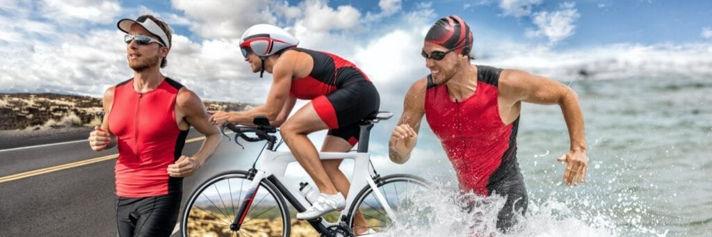 Touchless transition during triathlon with the Wahoo ELMENT Rival sports watch