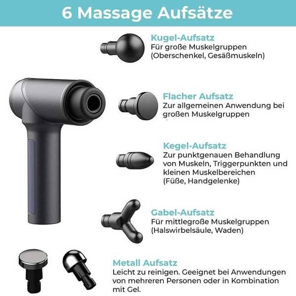 Orthomechanik OrthoGun 2.0 Massagepistole XP Sport 3
