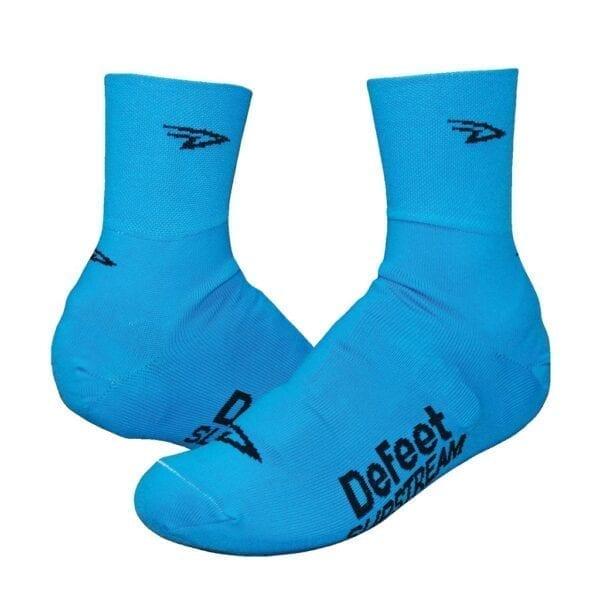 DeFeet Slipstream D Logo Überschuhe show cover blue