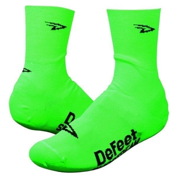 DeFeet Slipstream D Logo Überschuhe show cover green