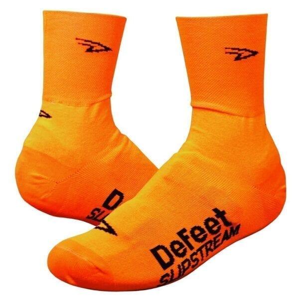 DeFeet Slipstream D Logo Überschuhe show cover orange
