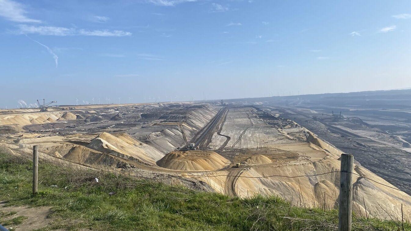 Road bike excursion to the Gatzweiler open pit mine