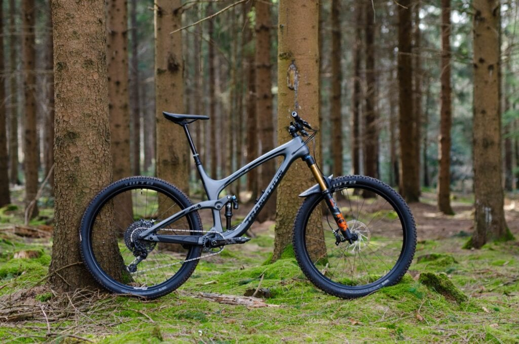 Transition Sentinel Carbon - Enduro Full with Fox damping
