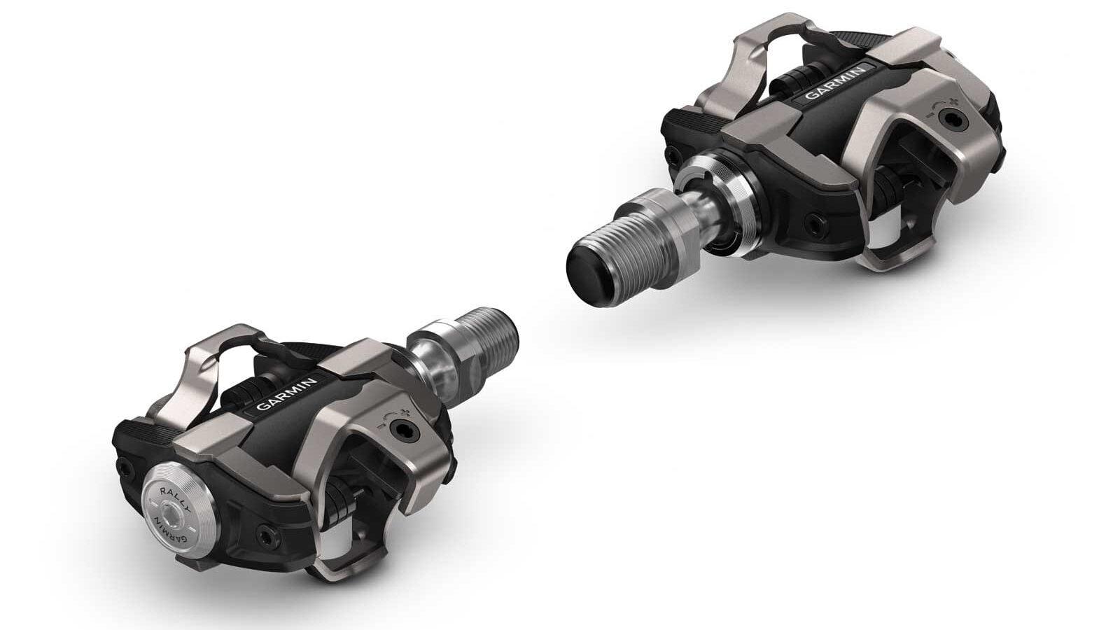 Garmin Rally XC200 pedaalvermogensmeter, dubbelzijdige vermogensmeter voor gravel- en crosscountrygebruik met SPD-schoentjes