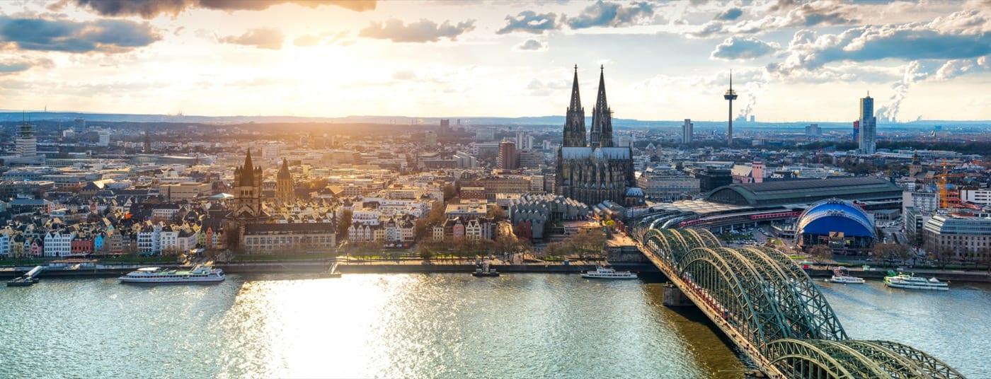 Köln Schuld Frechen Panorama