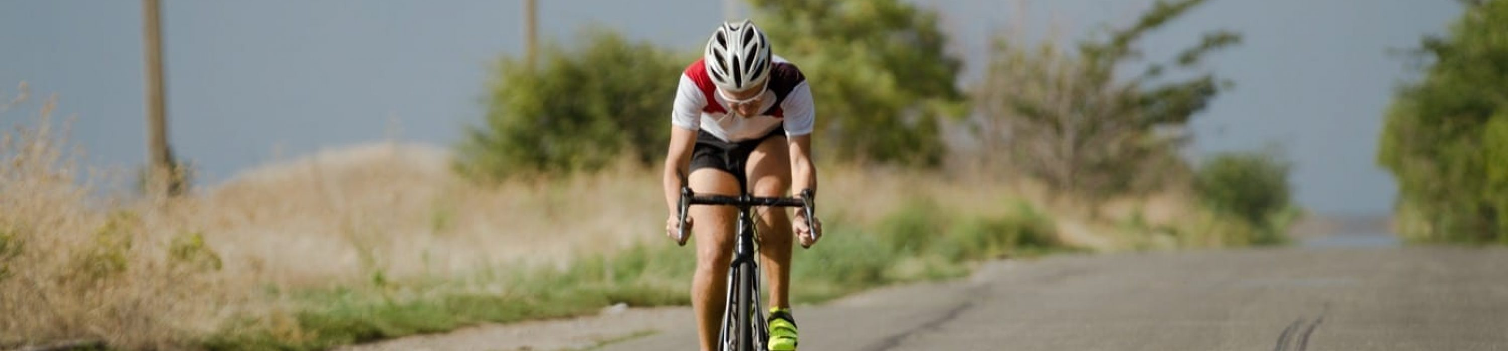 Road bike training with a power meter